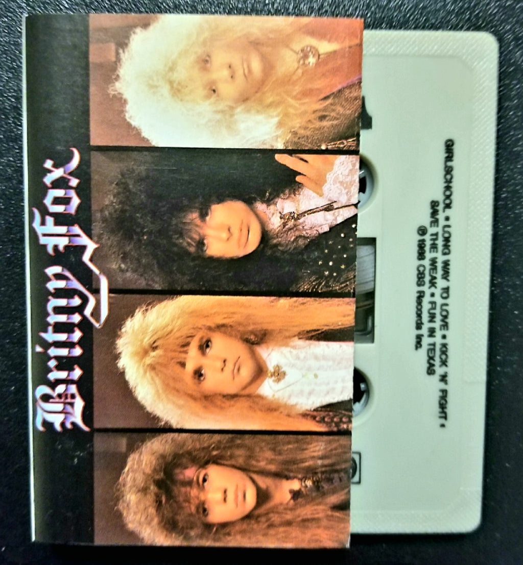 BRITNY FOX Self-Titled, S/T, Same Cassette