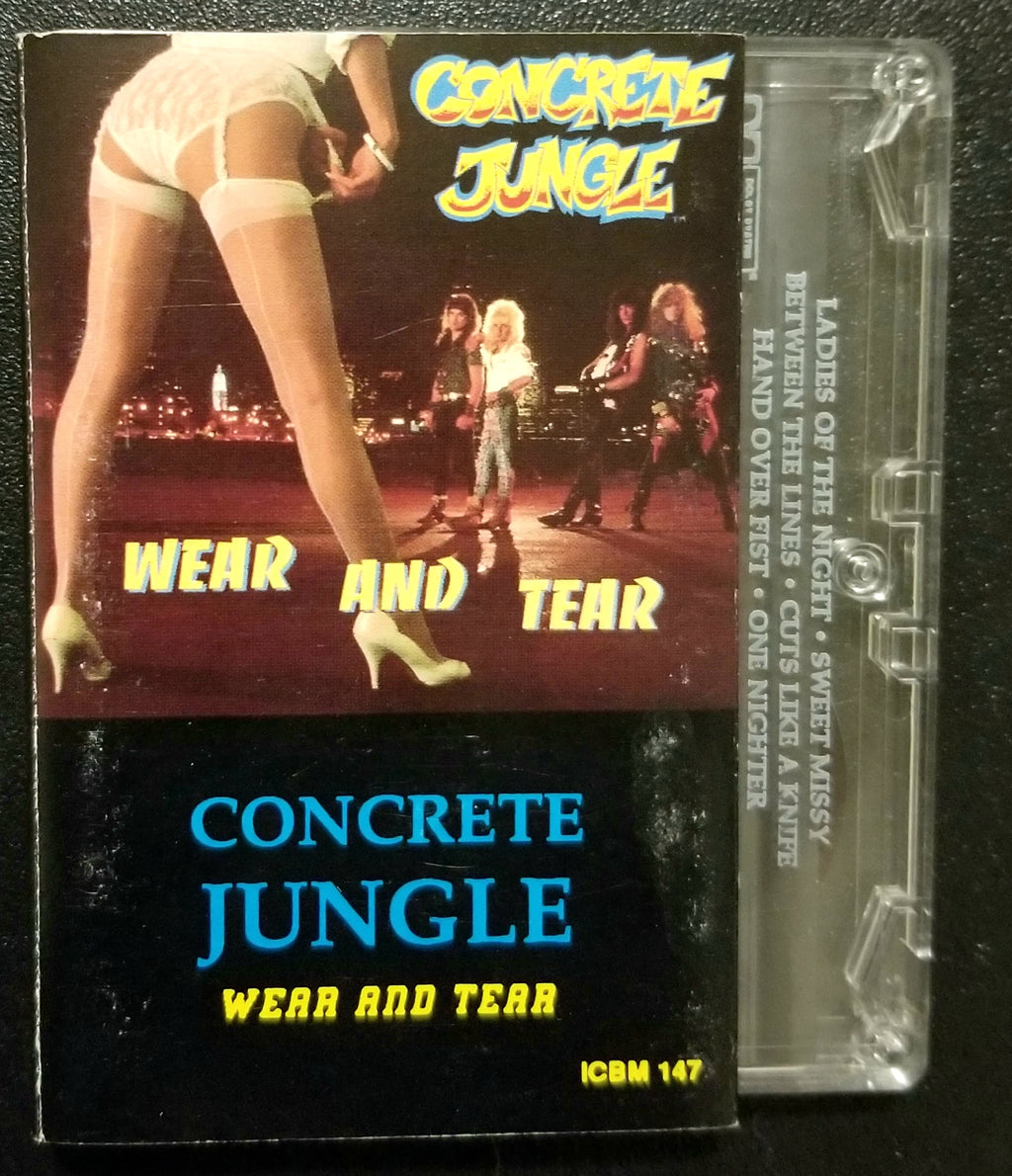 CONCRETE JUNGLE Wear and Tear Cassette