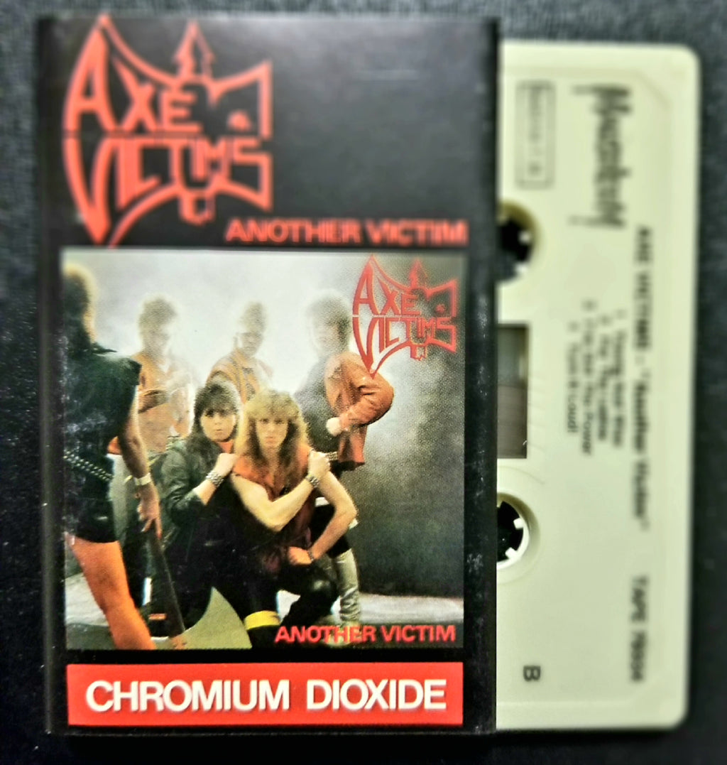 AXE VICTIMS Another Victim 1984 Cassette Masoleum