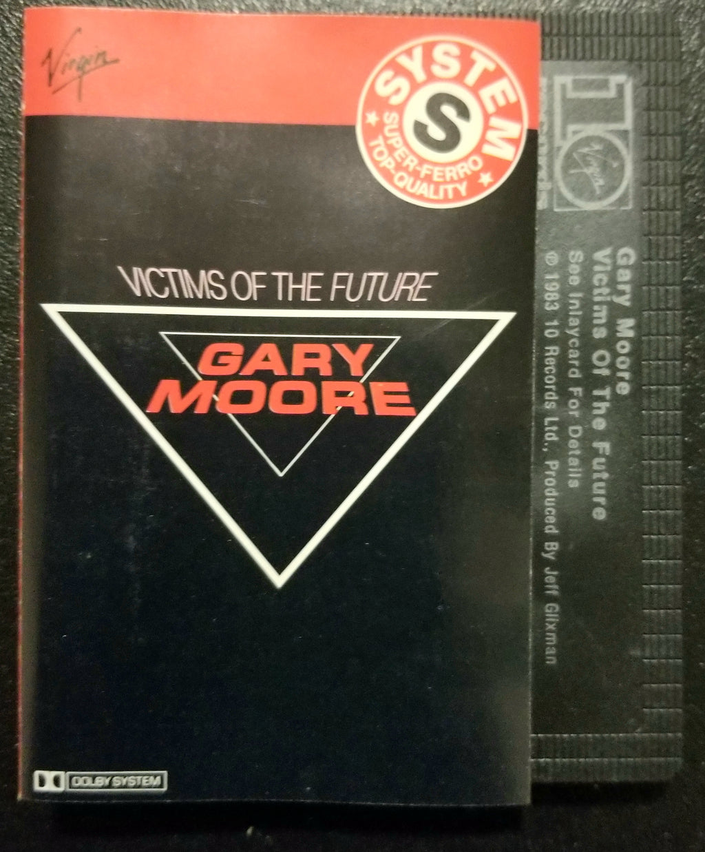 GARY MOORE Victims of the Future Cassette