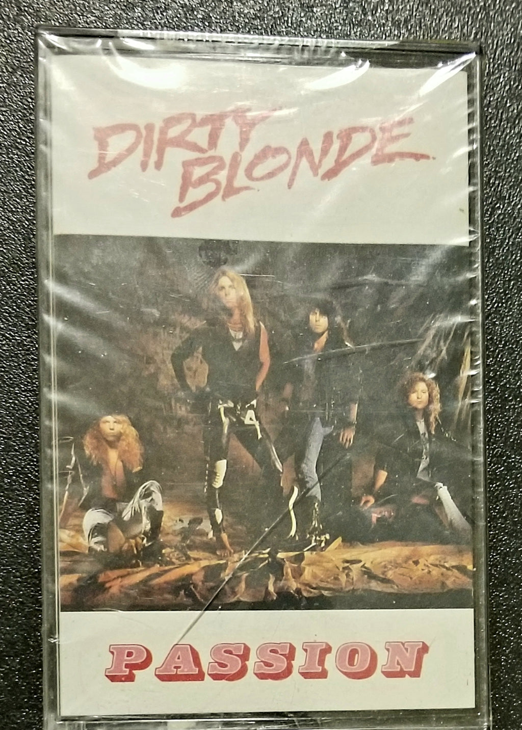 DIRTY BLONDE Passion Cassette NEW