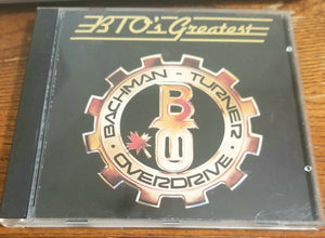 BTO BACHMAN TURNER OVERDRIVE GREATEST BEST CD