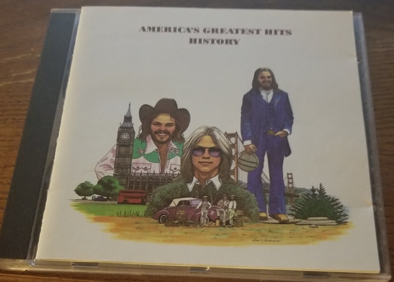 AMERICA GREATEST HITS HISTORY BEST CD