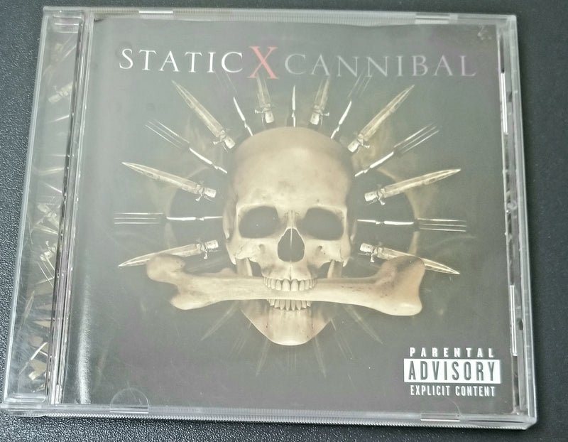 STATIC X CANNIBAL 2007 REPRISE CD