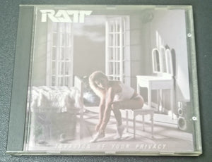 RATT INVASION OF YOUR PRIVACY 1985 CD
