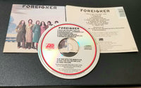 FOREIGNER SELF-TITLED, S/T, SAME CD EUROPE 250 356