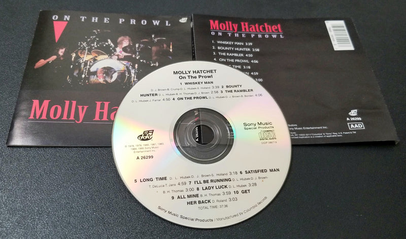 MOLLY HATCHET ON THE PROWL CD