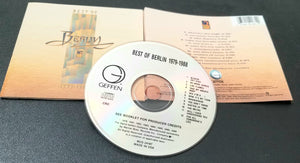 BERLIN BEST OF / GREATEST 1979-1988 CD GEFFEN