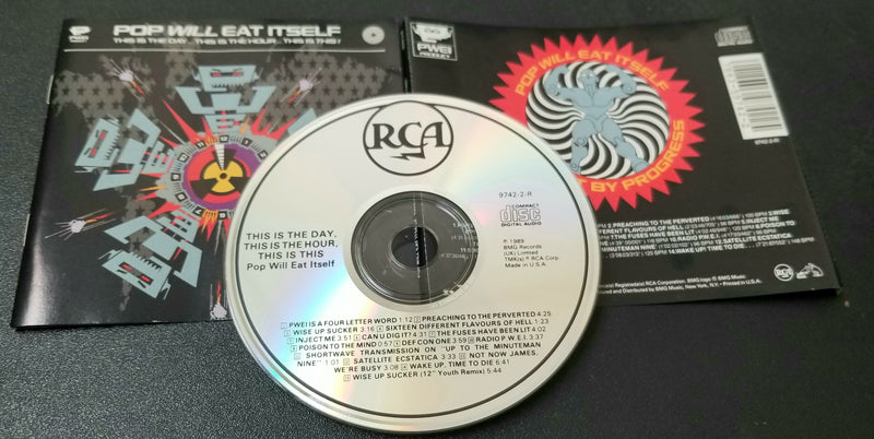 POP WILL EAT ITSELF THIS IS THE DAY THIS IS THE HOUR THIS IS THIS CD 1989 UK