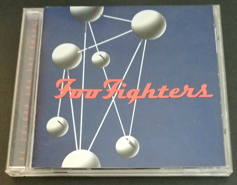 FOO FIGHTERS THE COLOUR AND THE SHAPE CD