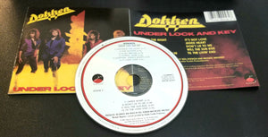 DOKKEN UNDER LOCK AND KEY 1985 CD MADE IN JAPAN