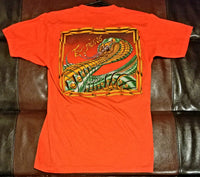 Y&T BLACK TIGER / MEAN STREAK 1985-86 Tour VINTAGE T-Shirt Men's MEDIUM