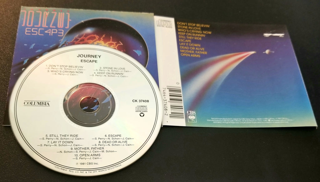 JOURNEY ESCAPE JAPAN CK 37408 CD