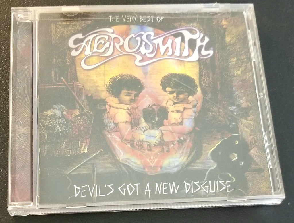 AEROSMITH DEVIL'S GOT A NEW DISGUISE VERY BEST OF/GREATEST CD