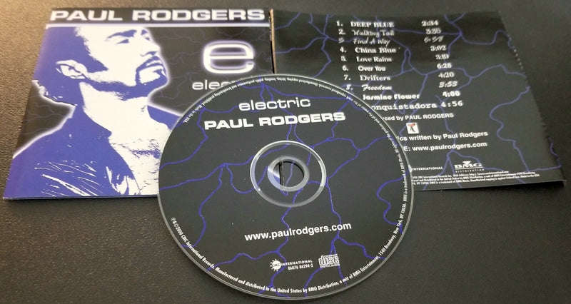 PAUL RODGERS ELECTRIC CD