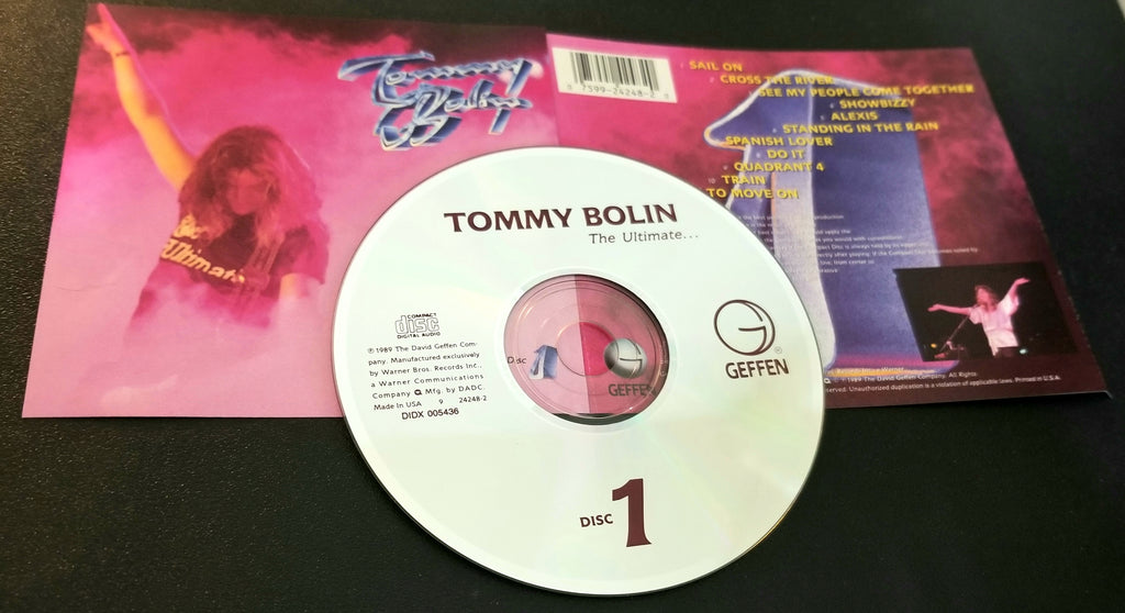 TOMMY BOLIN THE ULTIMATE DISC 1 CD