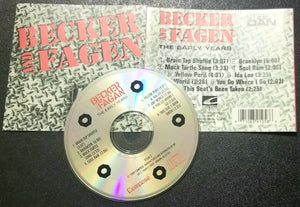 BECKER AND FAGEN STEELY DAN THE EARLY YEARS CD 1989 COMPOSE MISSPELLED NAME ON DISC