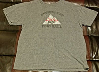 COORS LIGHT FOOTBALL T-SHIRT Men's X-LARGE XL