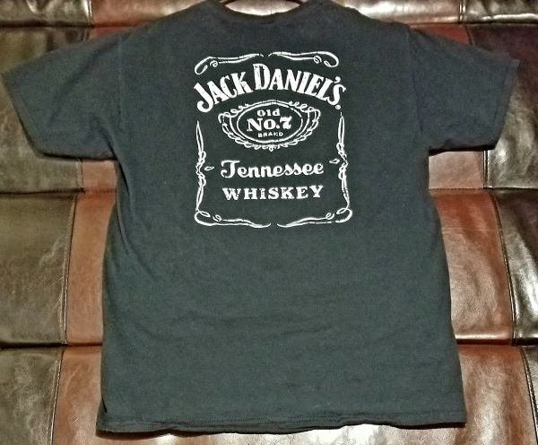 JACK DANIEL'S T-SHIRT Men's MEDIUM M