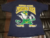 NOTRE DAME FIGHTING IRISH VINTAGE T-Shirt Men's X-LARGE XL