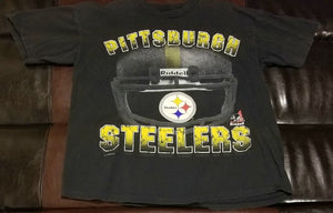 PITTSBURGH STEELERS RIDELL VINTAGE T-Shirt Men's LARGE L