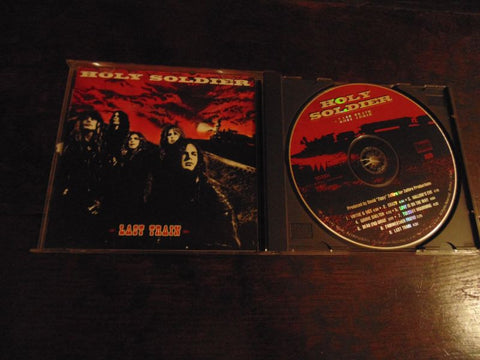 Holy Soldier CD, Last Train, Original 1992 Word/Myrrh Pressing, Stryper