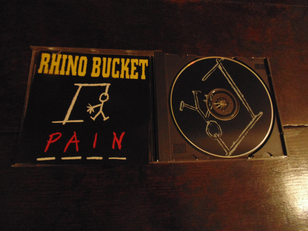 Rhino Bucket CD, Pain, Original 1994 Pressing, AC/DC