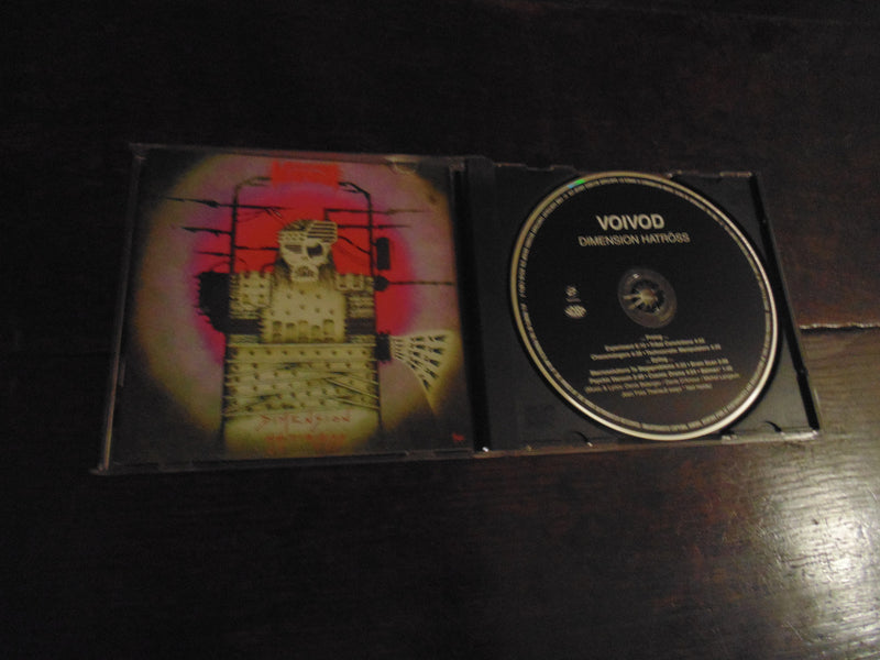 Voivod CD, Dimension Hatross, 1988 Pressing Noise / Sanctuary, Voi Vod