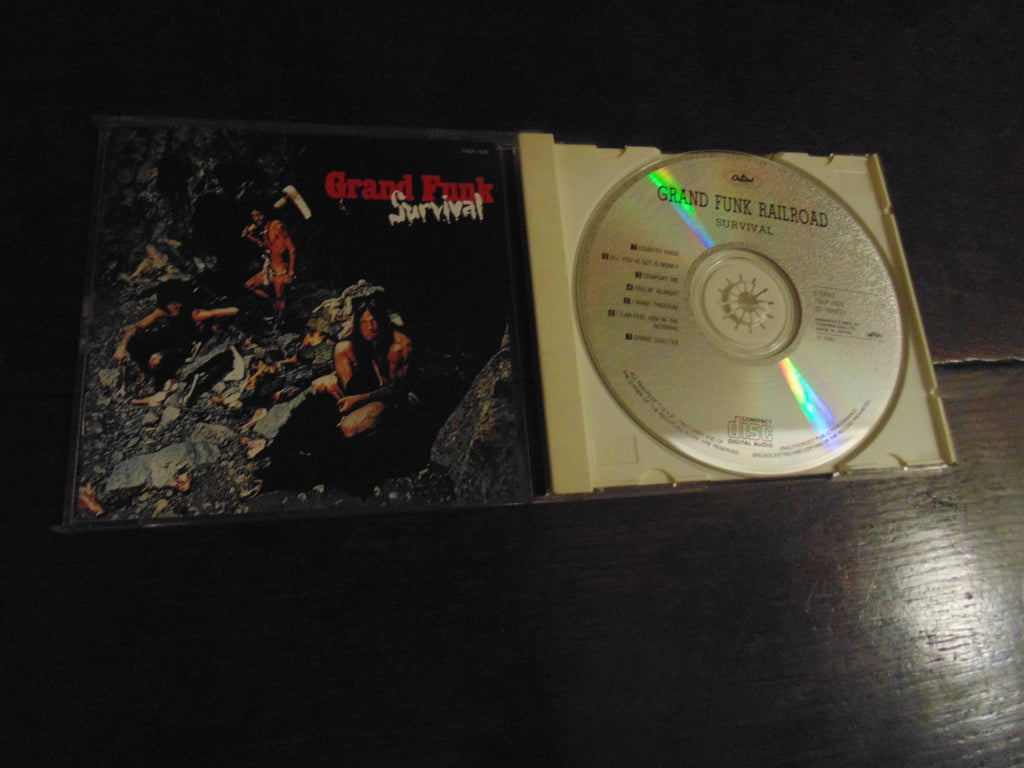 Grand Funk Railroad CD, Survival, 1993 Pressing, Japanese Import TOCP-7620