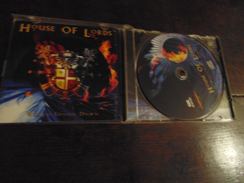 House of Lords CD, World Upside Down, Giuffria, James Christian, Import