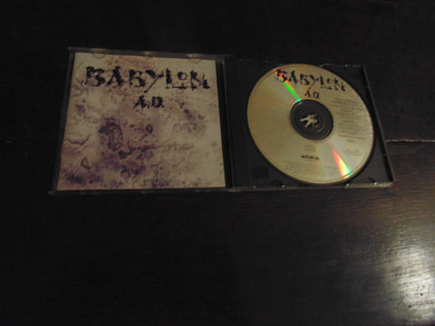 Babylon A.D. CD, AD, Self-titled, S/T, Same, BMG Pressing