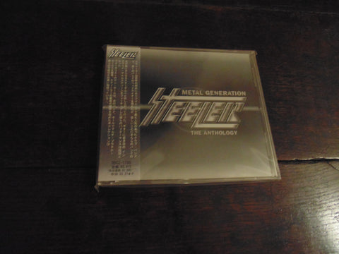 Steeler CD, Metal Generation, The Anthology, Keel, Yngwie, Rik Fox