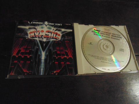 Vinnie Vincent Invasion CD, Self-titled, S/T, Same, KISS, Slaughter, Japanese Import, 1st Pressing