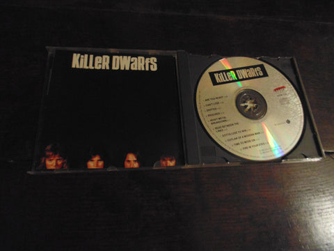 Killer Dwarfs CD, The Killer Dwarfs, Self-titled, S/T, Same, 1st Pressing, ACDM 1178
