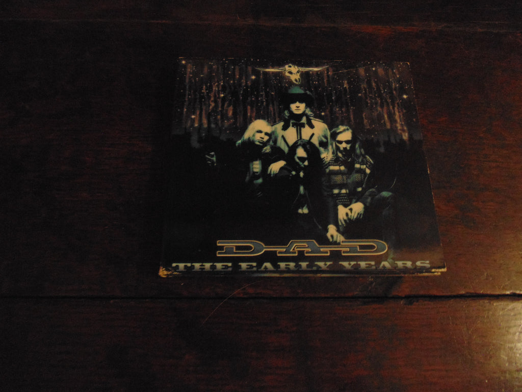 D.A.D. CD, The Early Years, DAD, 2 CD, Bonus Material, Digi