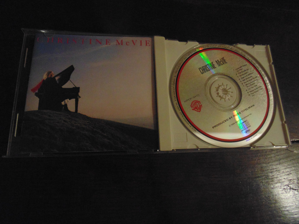 Christine McVie CD, Self-titled, S/T, Same, Japanese Import, Fleetwood Mac, WPCP-3410