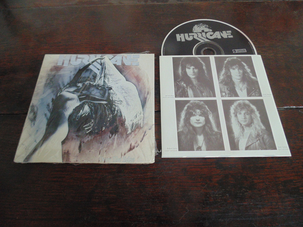Hurricane CD, Over the Edge, Mini-LP Replica, MINT, Foreigner, Remastered
