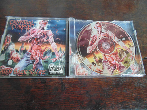 Cannibal Corpse CD, Eaten Back to Life