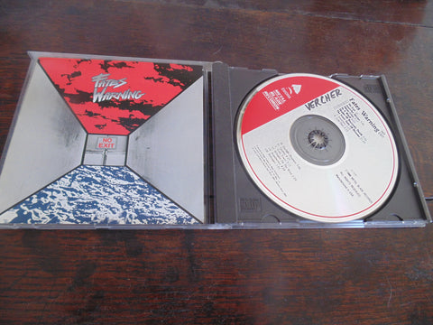 Fates Warning CD, No Exit, Original Metal Blade / Enigma Pressing