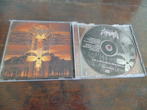 Enthroned CD, Apocalypse Manifest, Blackened