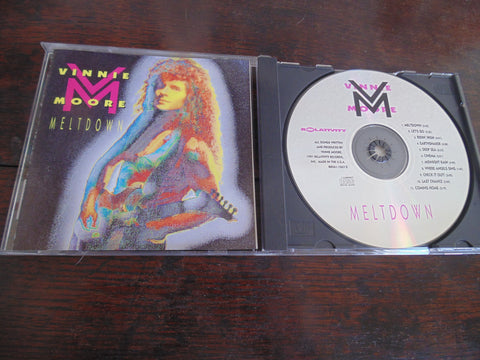 Vinnie Moore CD, Meltdown, UFO, Vicious Rumors, 1991 Relativity
