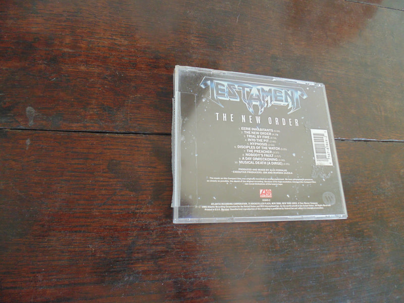 Testament CD, The New Order