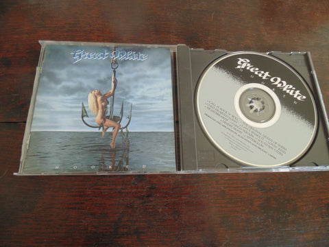 Great White CD, Hooked, Banned Cover, US Release