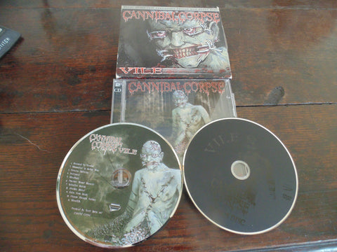 Cannibal Corpse CD / DVD, Vile, Metal Blade 25th Anniversary