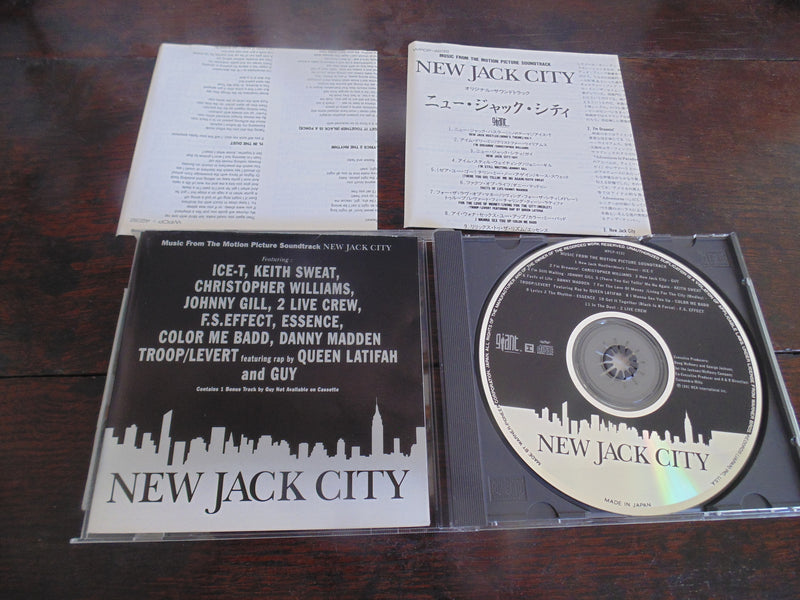 New Jack City CD, Japanese Import, 1st Pressing
