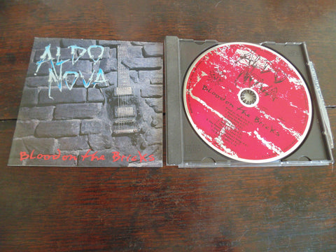Aldo Nova CD, Blood on the Bricks, Jon Bon Jovi