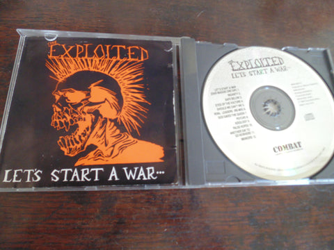 Exploited CD, Let's Start a War, Rare Combat Pressing