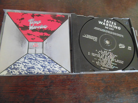 Fates Warning CD, No Exit, Metal Blade