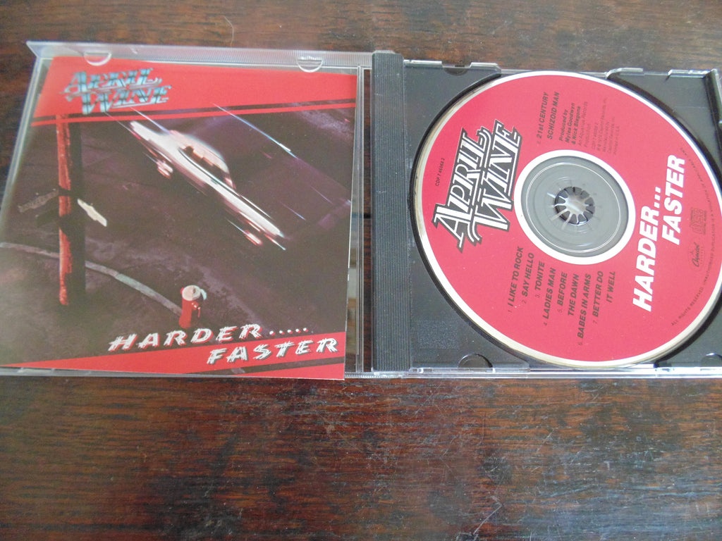 April Wine CD, Harder......Faster, Capitol Records