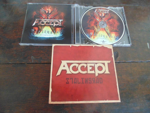 Accept CD, Stalingrad with Slipcase, Bonus Track, Nuclear Blast